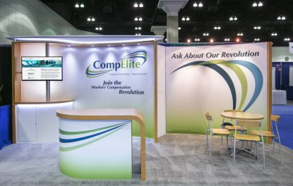 Professional Trade Show Display Design for CompElite - 2013