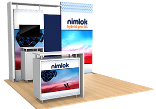 Nimlok Portable Trade Show Booths